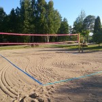 Beachvolleyboll planen